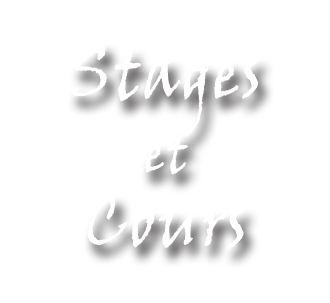 Stage et cours
